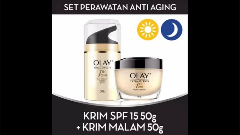 Olay Total Effects 7 in One Day Cream & Night Cream