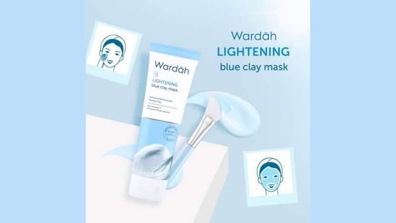 Lightening Blue Clay Mask