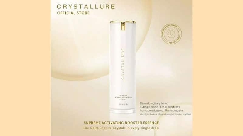 Produk Wardah untuk Usia 30 Tahun ke Atas - Crystallure Supreme Activating Booster Essence