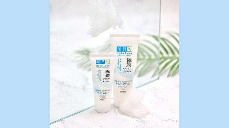 Rekomendasi Facial Wash untuk Kulit Kombinasi - Hada Labo Gokujyun Ultimate Moisturizing Face Wash