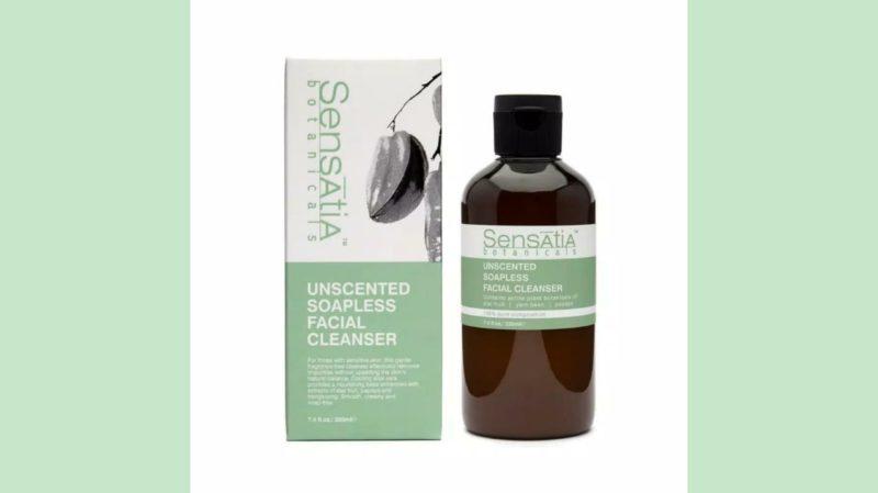 Rekomendasi Facial Wash untuk Kulit Kombinasi - Sensatia Botanicals Unscented Soapless Facial Cleanser
