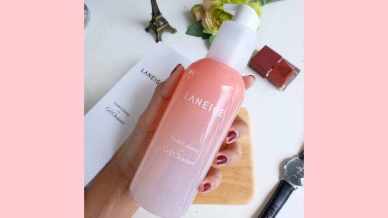 Rekomendasi Facial Wash untuk Kulit Kombinasi - Laneige Fresh Calming Gel Cleanser