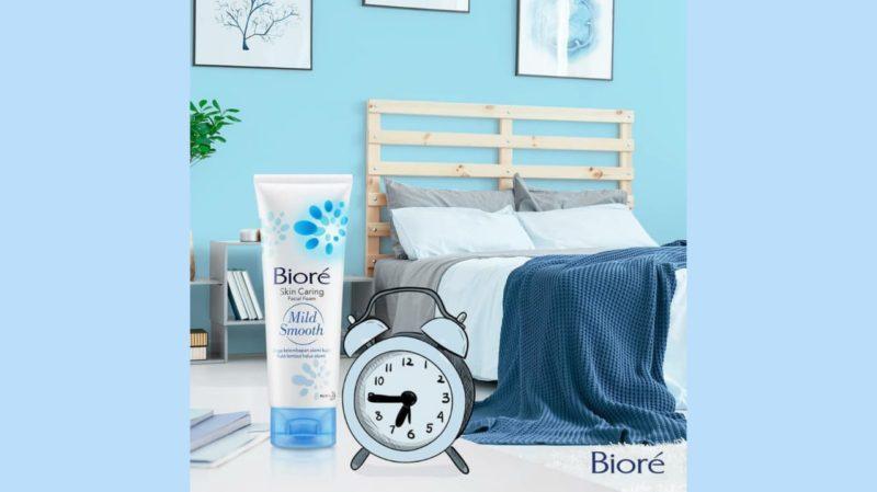 Biore Skin Caring Facial Foam Mild Smooth