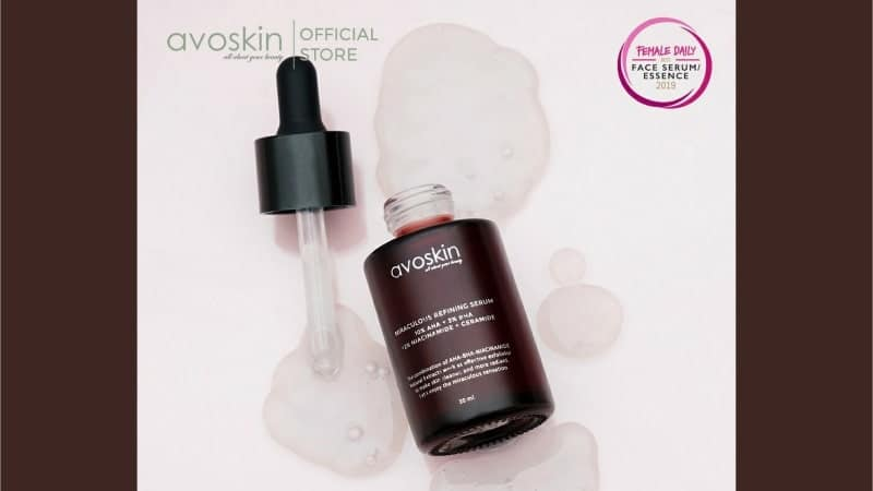 Manfaat Avoskin Miraculous Refining Serum - Tekstur