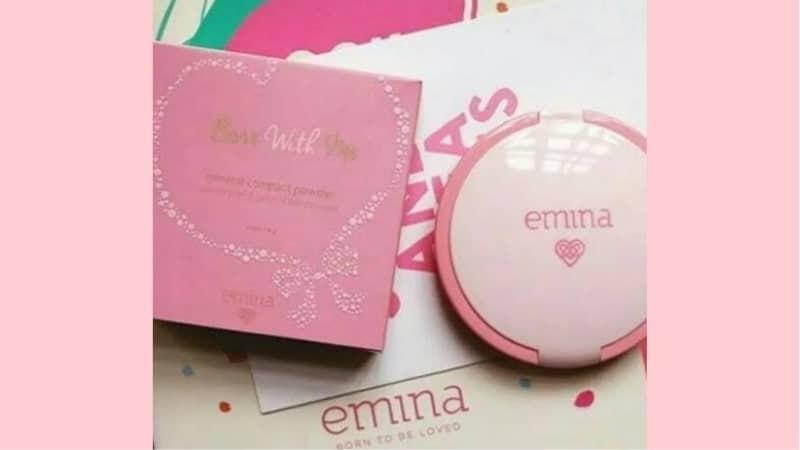 Merk Bedak Non Comedogenic - Emina Bare With Me Mineral Compact Powder