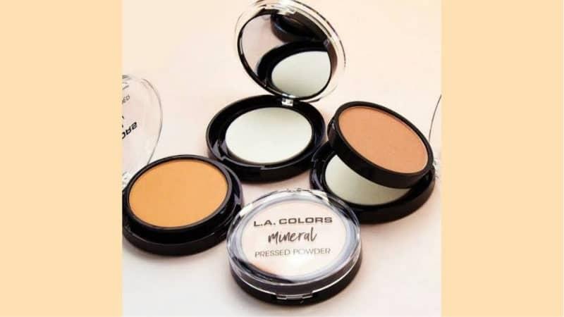Merk Bedak Non Comedogenic - L.A. Colors Mineral Pressed Powder