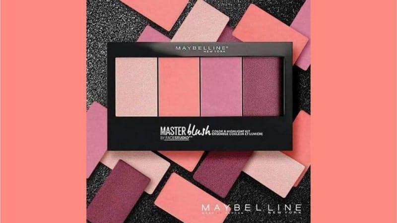Harga Blush On Maybelline - Master Blush Palette
