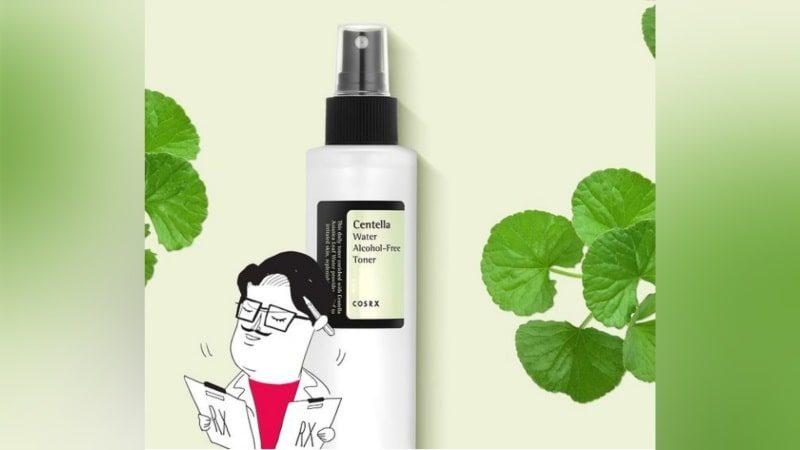 Review Cosrx Centella Water Alcohol Free Toner - 150 ml